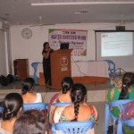 Leading Fertility Specialist Dr Nirmala Agrawal with participants in a CME Camp on Infertility